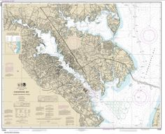 Chesapeake Bay Severn and Magothy Rivers (12282-36) by NOAA