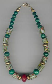 Trade bead necklaces from ATB African Necklace, African Jewelry, Tribal Jewelry, Bohemian Jewelry, Gemstone Jewelry, Beaded Jewelry, Jewelry Necklaces, Handmade Jewelry, Beaded Necklace