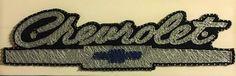 """Retro Chevrolet Logo    22"""" x 7.5""""       Custom String Art Chevy"""