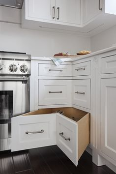 10 Healthy Cool Ideas: Condo Kitchen Remodel House farmhouse kitchen remodel before after.Affordable Kitchen Remodel Money kitchen remodel must haves decorating ideas. Kitchen Corner, Kitchen Tops, Kitchen Redo, Kitchen Storage, Kitchen Cupboard, Open Kitchen, Corner Cupboard, Long Kitchen, Narrow Kitchen