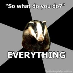 Submitted by jonbloom For all of our multi-talented Badgers. ^_^
