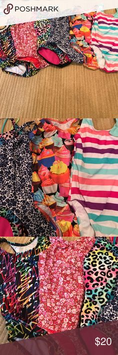 Multiple Girls bathing suits. Multiple Girls bathing suits. Swim One Piece