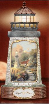 Thomas Kinkade.....Lighthouse...in love with this