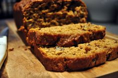 Pumpkin YogurtBread- followed exactly except, I made muffins, added chic chips to top, left nuts out.