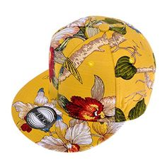 ZLYC Unisex High Quality Hand Painted Floral Plant Printed Flatbill Adjust Baseball Hat Snapback (Yellow) ZLYC http://www.amazon.co.uk/dp/B00MPH74EG/ref=cm_sw_r_pi_dp_uji7tb1751F07