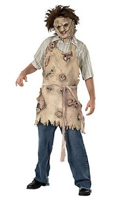 Leatherface Apron of Souls Costume Accessory Best Halloween Costumes & Dresses USA Horror Movie Costumes, Horror Halloween Costumes, Horror Costume, Halloween Inspo, Evil Clown Costume, Devil Costume, Costume Dress, Halloween Costumes Party City, Diy Costumes