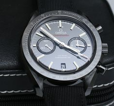Omega Speedmaster Co-Axial Chronograph Dark Side Of The Moon Black Ceramic Watch Review Wrist Time Reviews
