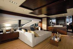 @Azimut_Yachts interiors by @Christina Alcantara® #Leonardo100 #Alcantara