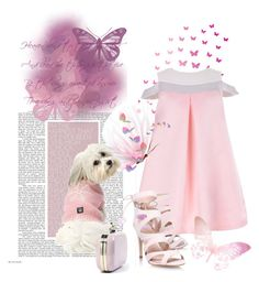 """""""Rhapsody in Pink"""" by andrejae ❤ liked on Polyvore featuring Miss KG and 5PM COUTURE"""