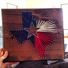 Texas, star, state, home, Texas pride, lonestar, string art...LOVE TEXAS
