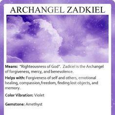 Archangel Zadkiel... <3