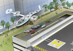Uber to demonstrate Elevate air taxi service in 2020