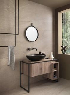 Italgraniti Up Stone Beige 80 x 160 cm Bodenfliese Tile Manufacturers, Beige Bathroom, Bathroom Toilets, Bathroom Interior Design, Bathroom Furniture, Bathroom Ideas, Tile Design, House, Home Decor