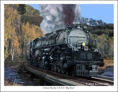 Union Pacific 4-8-8-4 Big Boy by markkarvon.deviantart.com on @deviantART