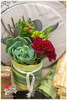 "I Love Pretoria: Kamervol Geskenke 2013 - awesome ""vase"" idea"