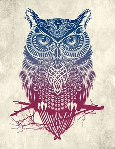 would be a cool owl tattoo