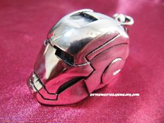 "316L Surgical Steel ""Iron Man"" Pendant"