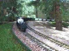 World's Longest G Scale Train with one locomotive!