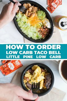 Check out how to order keto taco bell, from breakfast to power bowls. Who woulda thought everyone's favorite fast food joint is full of delicious low carb fixins! ( Keto On The Go ) Low Carb Taco Bell, Low Carb Tacos, Low Carb Lunch, Healthy Fast Food Options, Fast Healthy Meals, Keto Fast Food Breakfast, Fresco, Vegan Blog, Keto On The Go