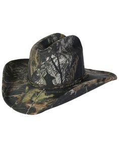 Mossy Oak® Camo Cowboy Hat::Felt::Men's::Cowboy Hats::Fort Western Online
