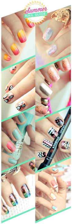 summer nails. - hair-sublime.com
