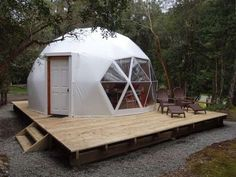 MIL ANUNCIOS.COM - Anuncios de casa domo geodesico casa domo geodesico Yurt Home, Bubble House, Dome Structure, Geodesic Dome Homes, Round Building, Dome House, Dome Tent, Tiny House Cabin, Round House