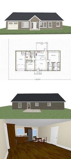 Building Plans and Blueprints 42130 Design Works 3-D Home Kit-All