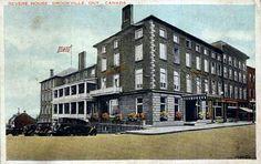 Brockville Ontario Canada Revere House Hotel Inn 1920 S