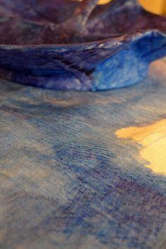 """""""chacun son trait"""", feutres sur coton et porcelaine, 28 septembre - 31 octobre 2015, Maison Forte de Hautetour, Saint-Gervais, sophiematter.com"""