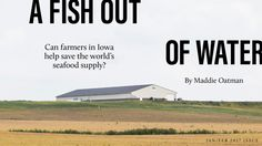 """Aquaculture may be the oceans' last hope for survival"""" #aquaculture #seafood #sustainability"""