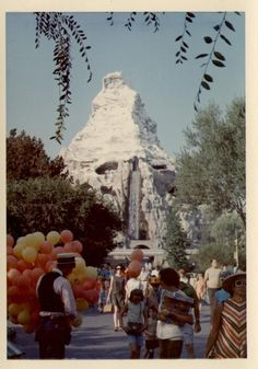 The Matterhorn in 1968 | 14 Pics Of Disneyland From The '50s And '60s