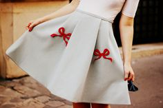 Vivetta Bow Skirt by What Olivia Did, via Flickr