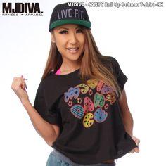 MJDIVA◆CANDYロールアップドルマンTシャツ-BK☆… [楽天] #Rakutenichiba