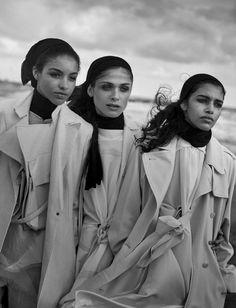 Moda é arte para Peter Lindbergh na Vogue Itália abril 2016