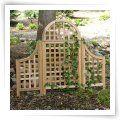 Yardistry Cedar Garden Trellis - Trellises at Simply Arbors