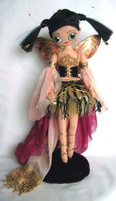 Felt Fairy Doll - front by ~impetere on deviantART