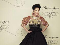Ples v Opere: Tamara Heribanová Diva, Opera, Folk, Victorian, Trends, My Style, Craft, Dresses, Fashion