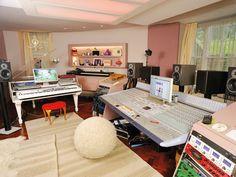 Imogen Heap's music studio