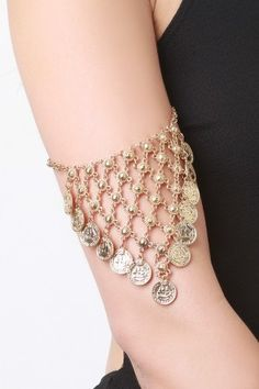 Bohemian Coin Arm Chain