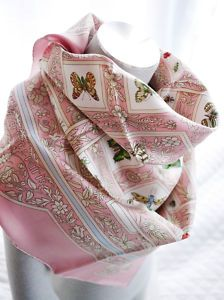 Lovely Hermes silk scarf