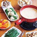 A cheese fondue menu both adults and kids will enjoy, plus fondue dos and don'ts for a safe, delicious party.