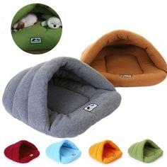 Haustier Hundebett Hund Katze Bett Warm Katzenhöhle Schlafsack Matten Hundehöhle in Haustierbedarf, Hunde, Betten | eBay!