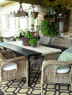Common Ground: Be Inspired: #172 I love this beautiful patio.