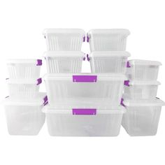 62% off on Otima 12 PC Lock Box Mega Containers | OneDayOnly.co.za