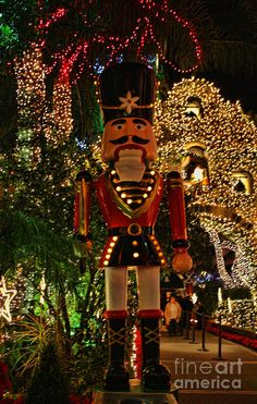 Mission Inn Christmas Nutcracker Photograph by Tommy Anderson