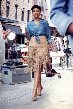 Jennifer Hudson is a style star.