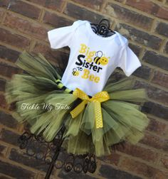 Big Sister to BEE Shirt by TickleMyTutu on Etsy, $24.95