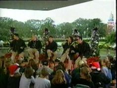 Backstreet Boys Disney Christmas Parade 1997