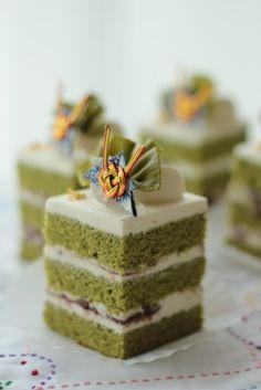 抹茶あずきの和ショートケーキ