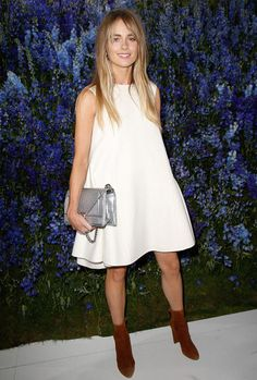 cressida-bonas-style-suede-boots-white-dress-front-row
